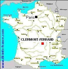 region clermont ferrand carte